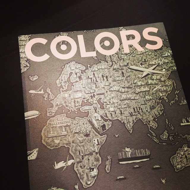 Out now: Colors 89 Moving House #tw