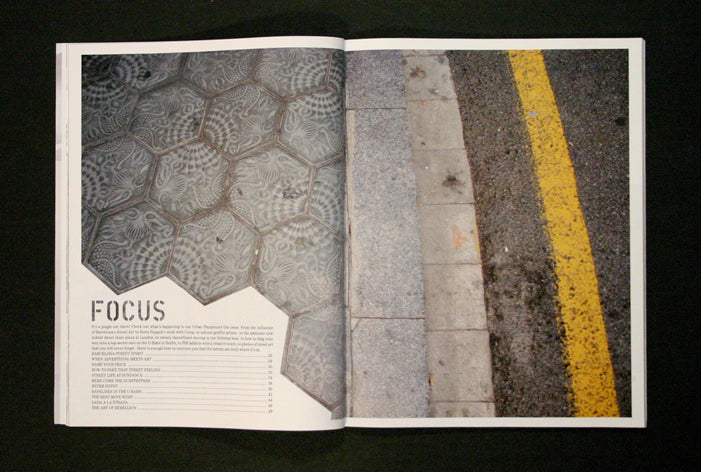 electronic beats opening spread