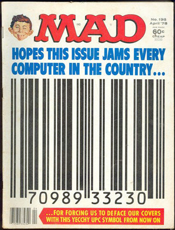 mad magazine barcode cover