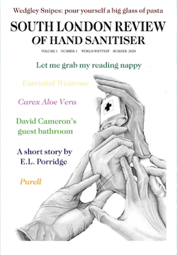 South London Review Of Hand Sanitiser, Volume 1, #1