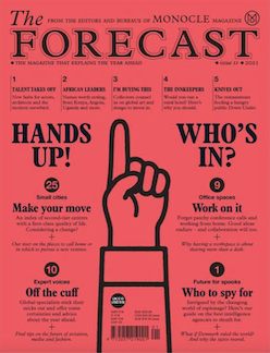 The Monocle Forecast #11, 2021