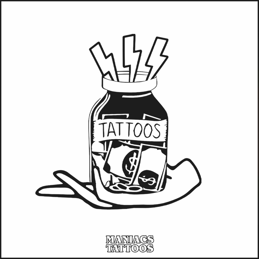 MANIACS Tattoos - Gift Card