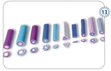 Various Designs for FIMO Beads