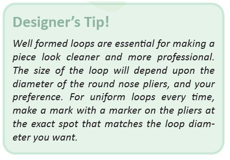 Tip For Jewellery Wrapped Loop