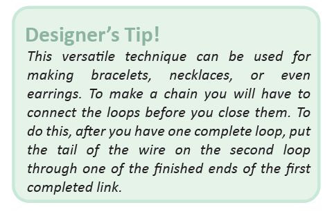 Tip for Wire Wrapped Beads