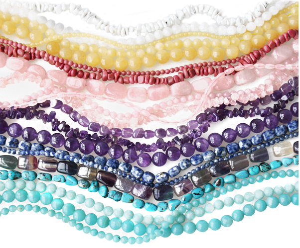 The finest collection of semi-precious beads on the web!