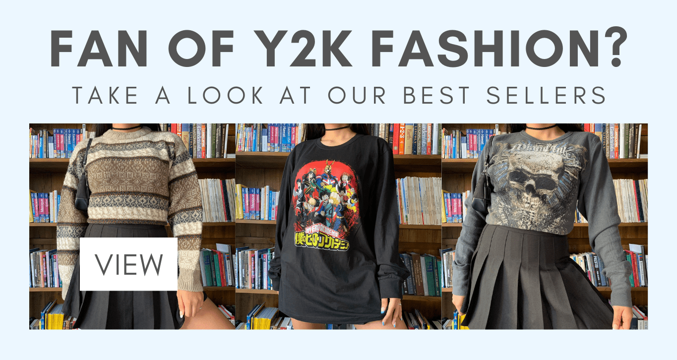 Fan of y2k fashion? take a look at our bestsellers