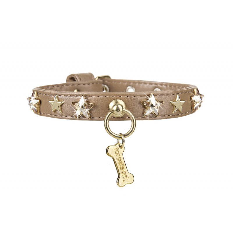 CHIC AND STARS COLLAR CAMEL - A.Mici&Co Boutique