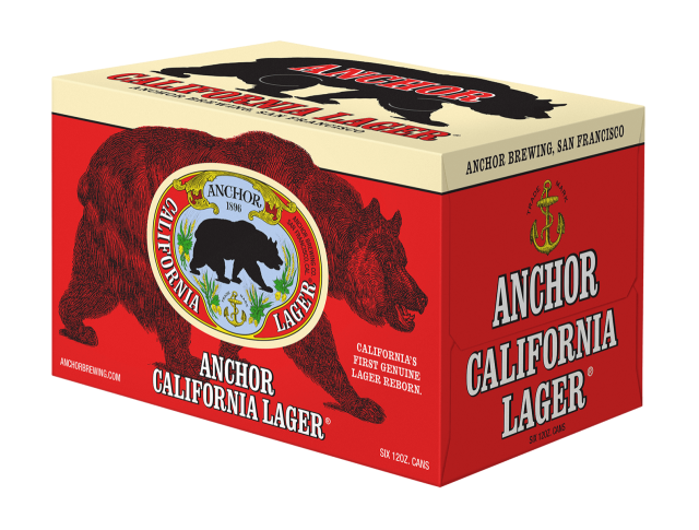 California Lager- 6 pack cans