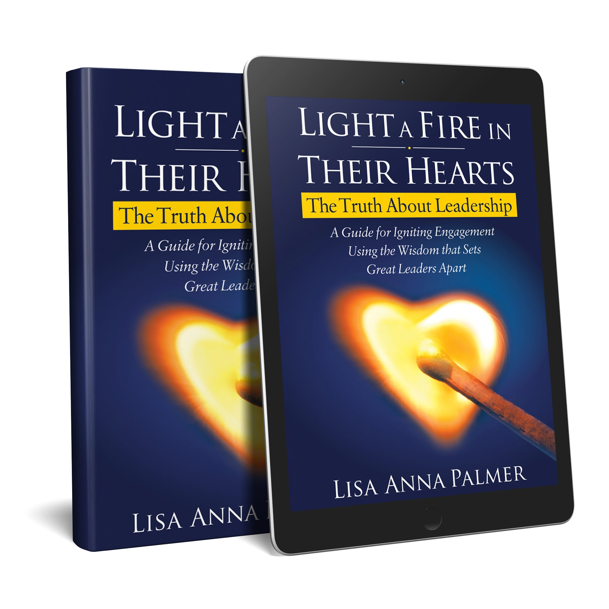 Book Cover - Light a Fire in Their Hearts