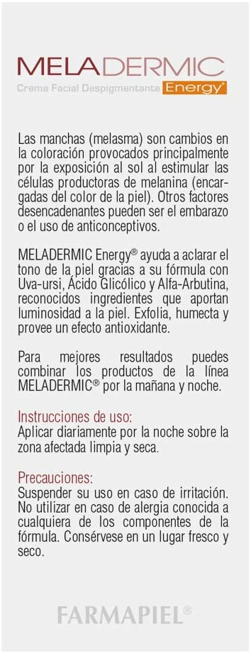 MELADERMIC ENERGY 5% 50GR