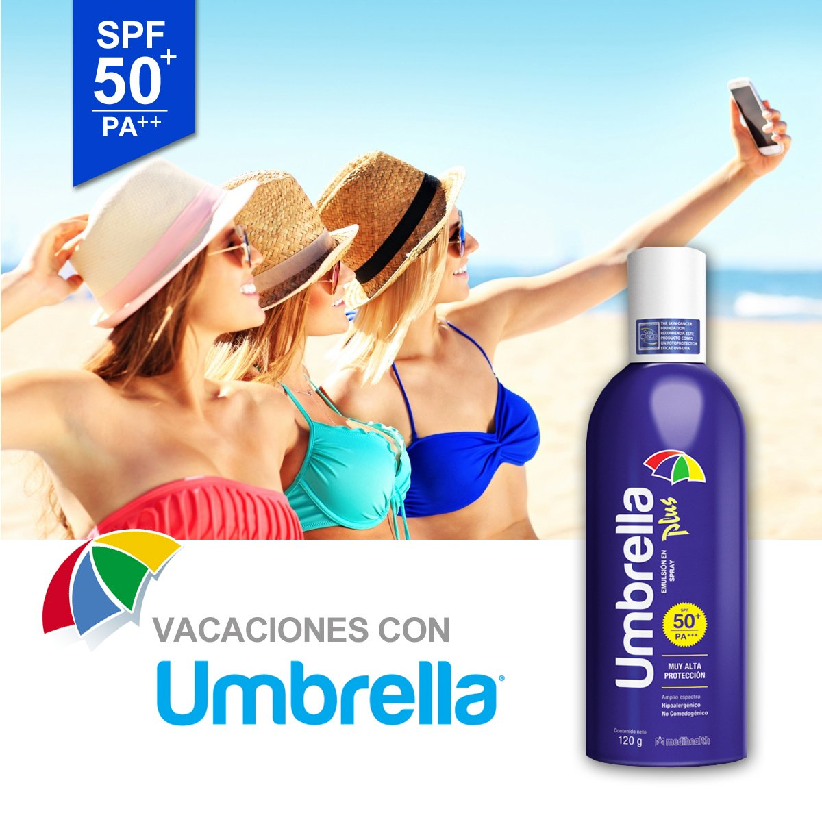 Umbrella Plus Protector Solar spray 60gr