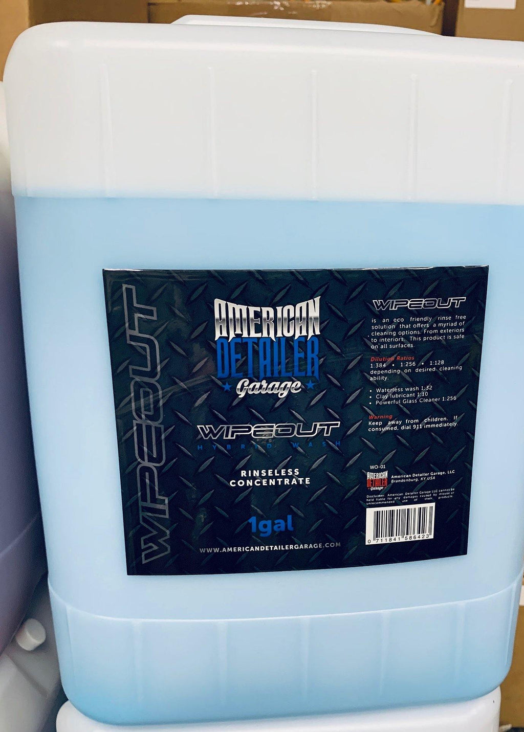 5 Gallons of Wipeout - American Detailer Garage