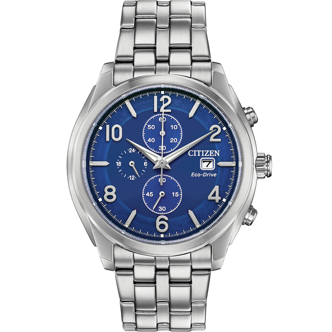 CItizen Eco Drive Chronograph Watch 50 % off