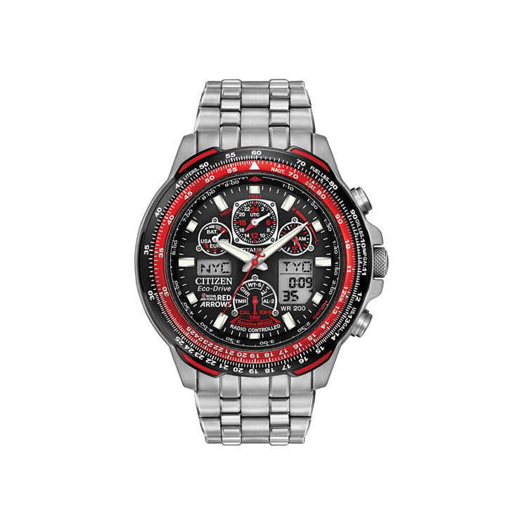 Citizen Eco Drive Red Arrows Titanium Watch