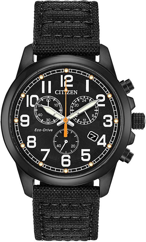 Gents Citizen Eco Drive Military Watch Save Over 50%