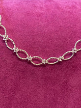 Load image into Gallery viewer, Sterling Silver Twisted Patterned Bracelet