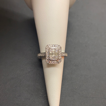 Load image into Gallery viewer, 18ct White Gold Diamond Cluster Ring