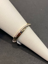 Load image into Gallery viewer, 9ct Diamond Twist Band Ring