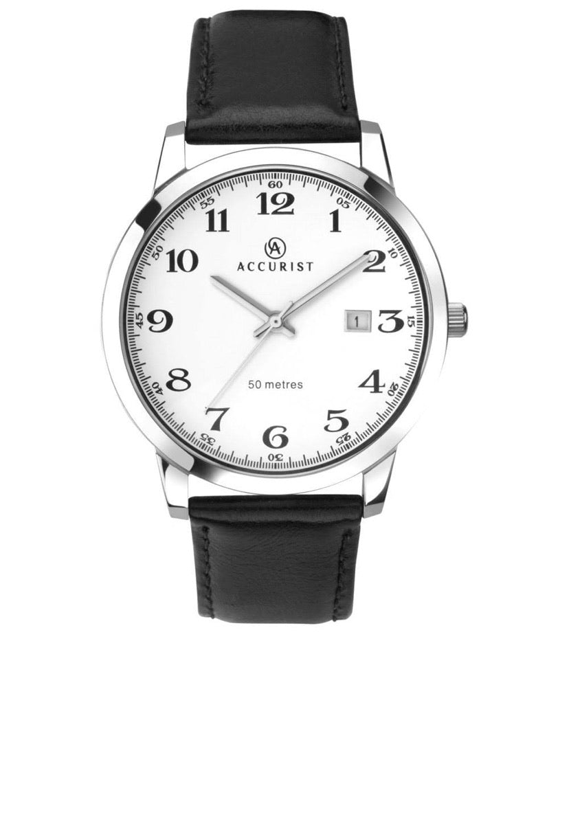 Accurist Men's Classic Strap Watch