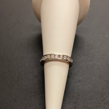 Load image into Gallery viewer, 18ct Diamond Eternity Wedding Band 0.50ct
