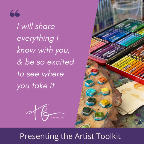 artist toolkit classes, art supply lists and free art classes