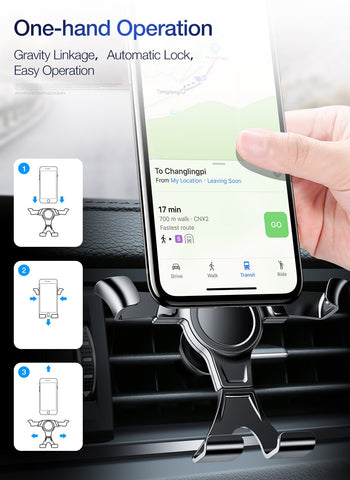 Image of FLOVEME Gravity Car Phone Holder Air Vent Mount