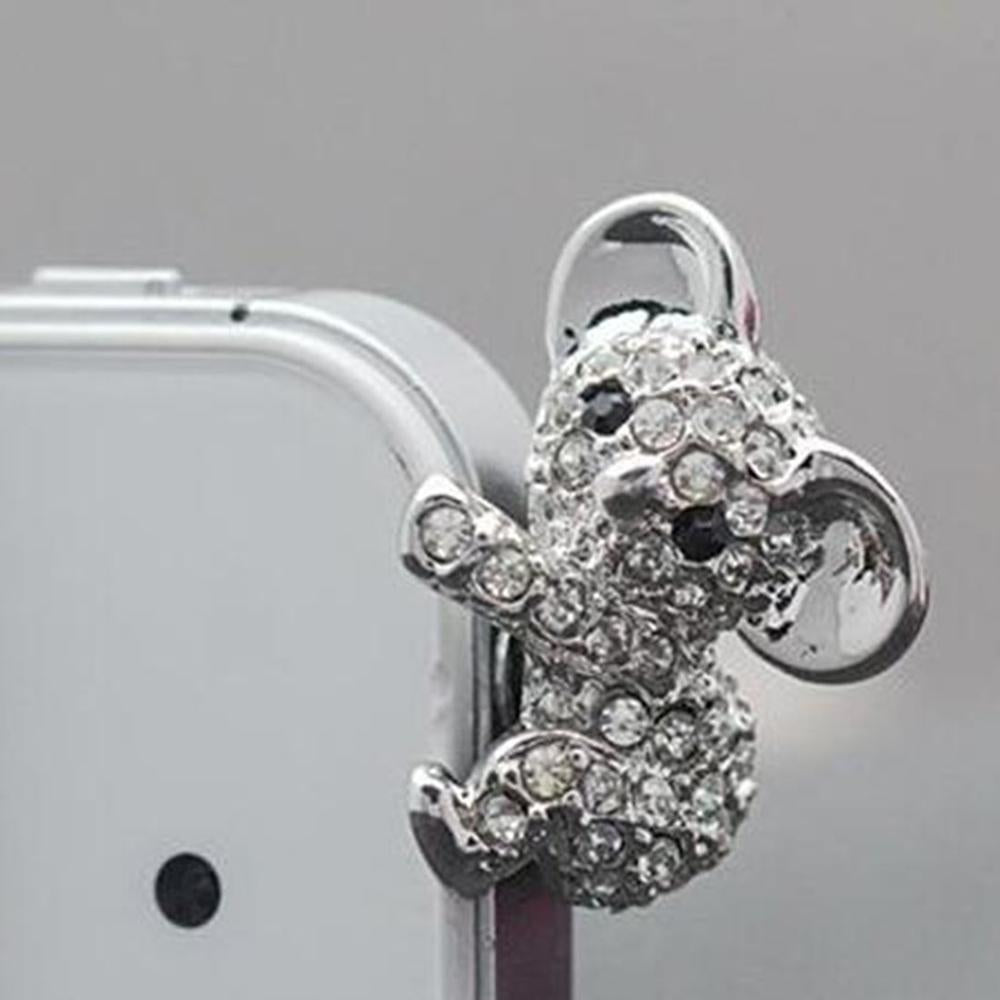 Cute Koala Phone Dust Plug