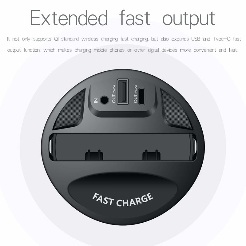 Car Wireless Charger Cup
