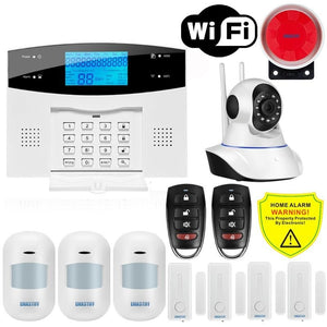 Wireless Home WIFI GSM Security System