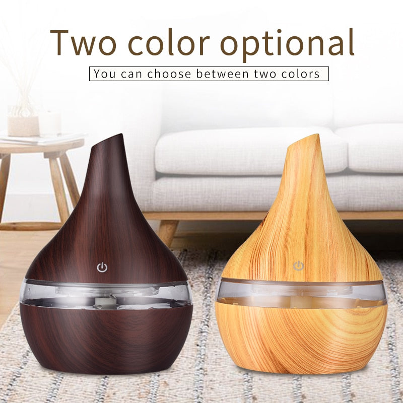 300ml Ultrasonic Air Humidifier
