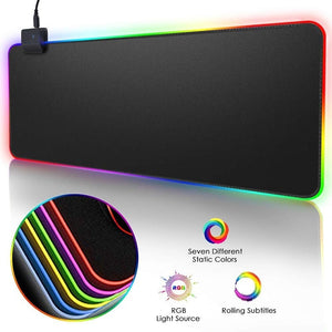 RGB Mouse Pad for Gaming & Working