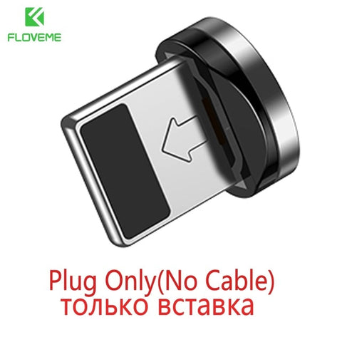 Image of FLOVEME L Type Magnetic Charger Cable To USB Charging
