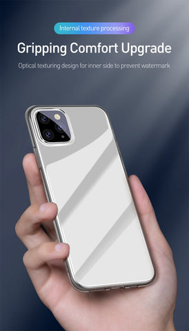 Baseus Transparent Soft Silicone Case For iPhone 11