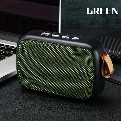 G2 Mini Bluetooth Speaker Stereo Soundbox Bass