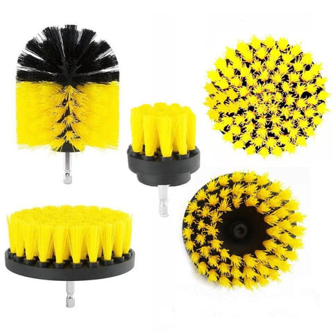 Drill Scrubber Brush Kit