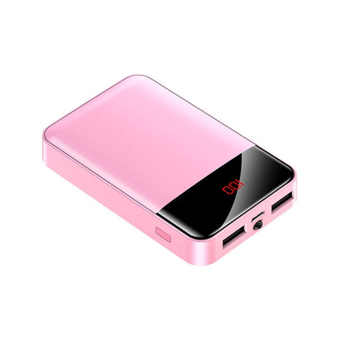 Image of Mini Power Bank 12000mAh USB Charging Portable Charger