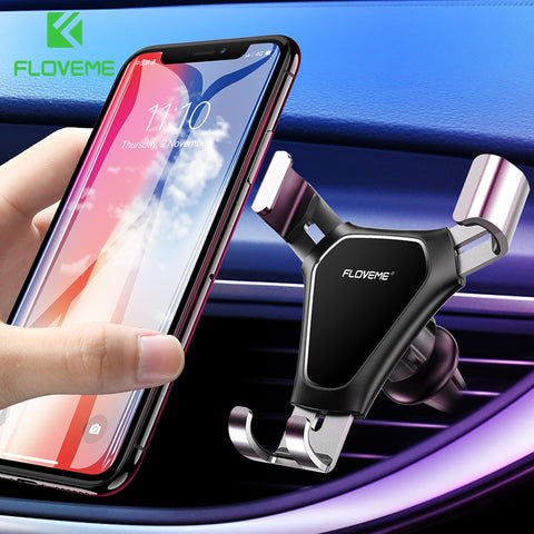 FLOVEME One-Click Release Car Phone Holder