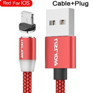 USLION Magnetic USB Cable Fast Charging USB Type C Cable