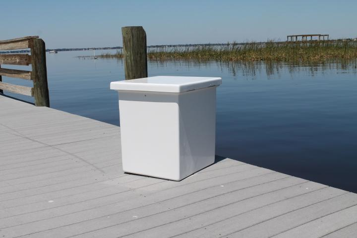 Sea Line Dock Box - 25 x 12'' x 17''