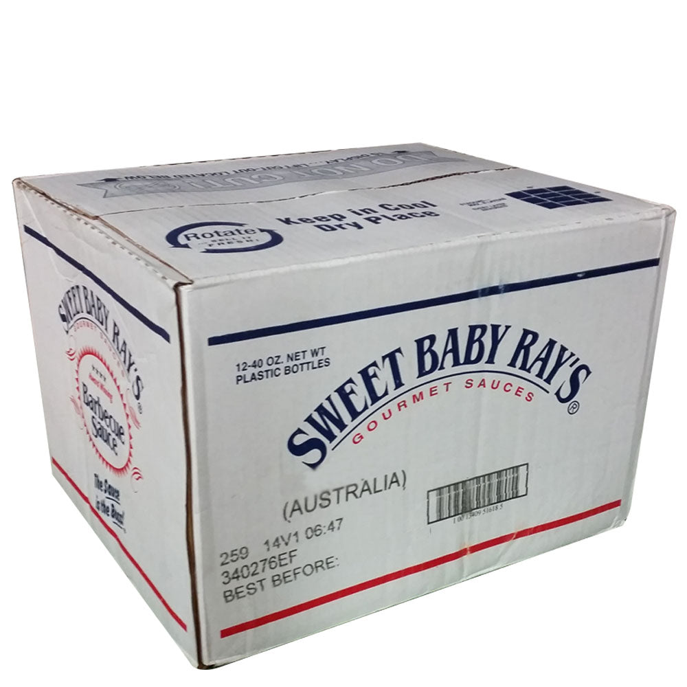 BBQ Sauce SWEET BABY RAY'S 946ml - Choose your Flavour (CARTON) - American BBQ Australia