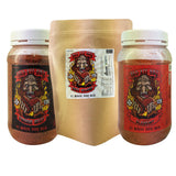 BBQ Dry Rub BADASSBBQ 3pc Bundle White Wizardry, Voodoo Beef and All Purpose 450g - American BBQ Australia