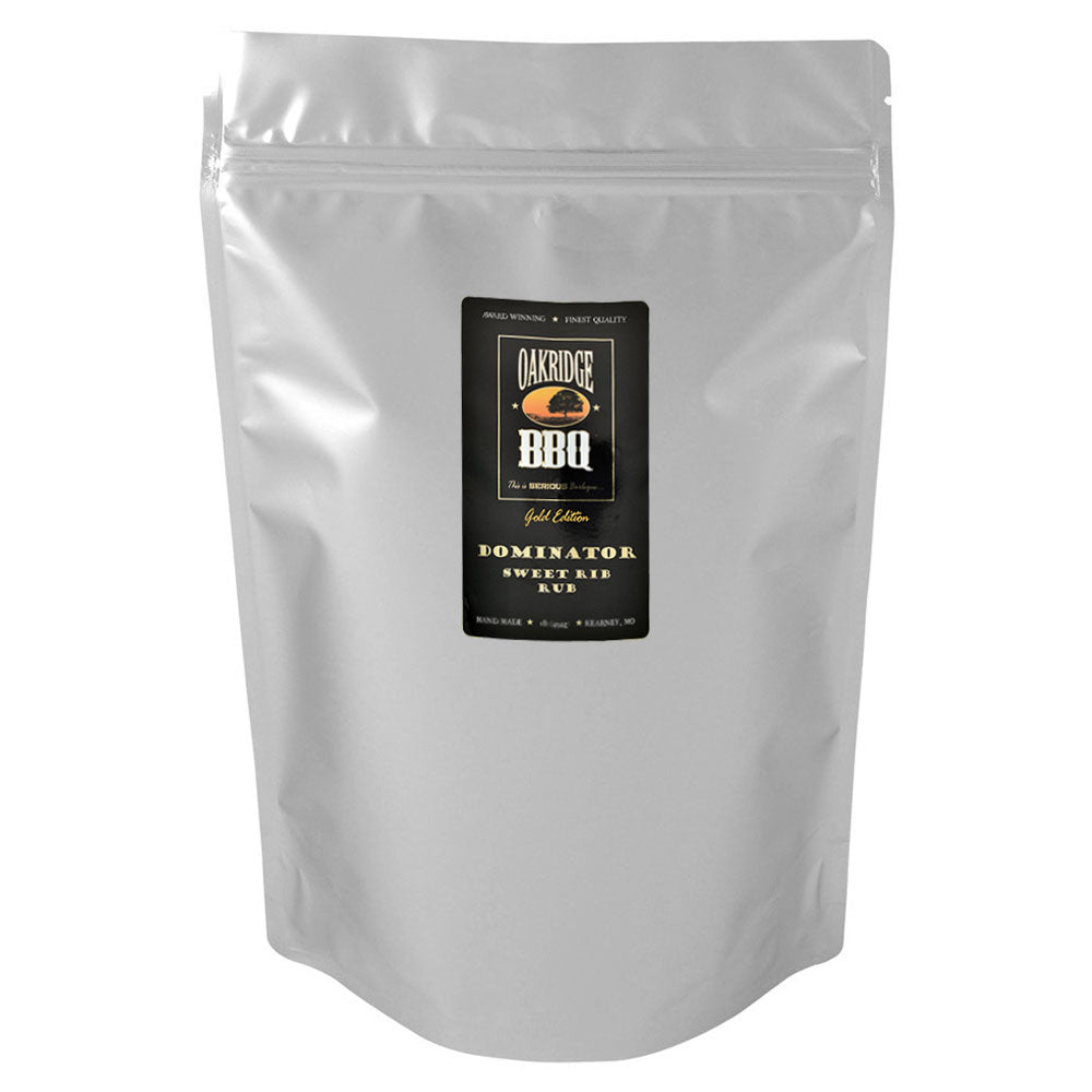 BBQ Dry Rub OAKRIDGE BBQ Gold Edition Dominator Sweet Rib 2.26Kg