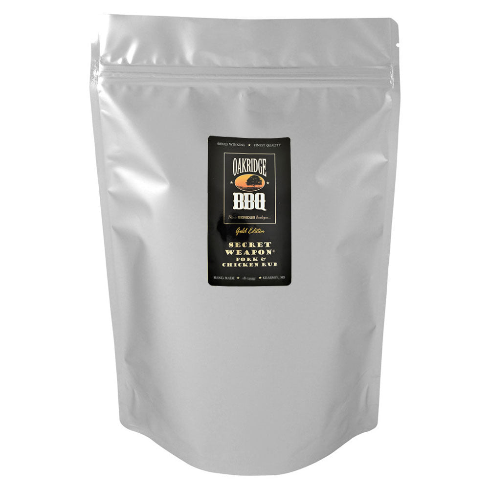 BBQ Dry Rub OAKRIDGE BBQ Gold Edition Secret Weapon Pork and Chicken 2.26Kg
