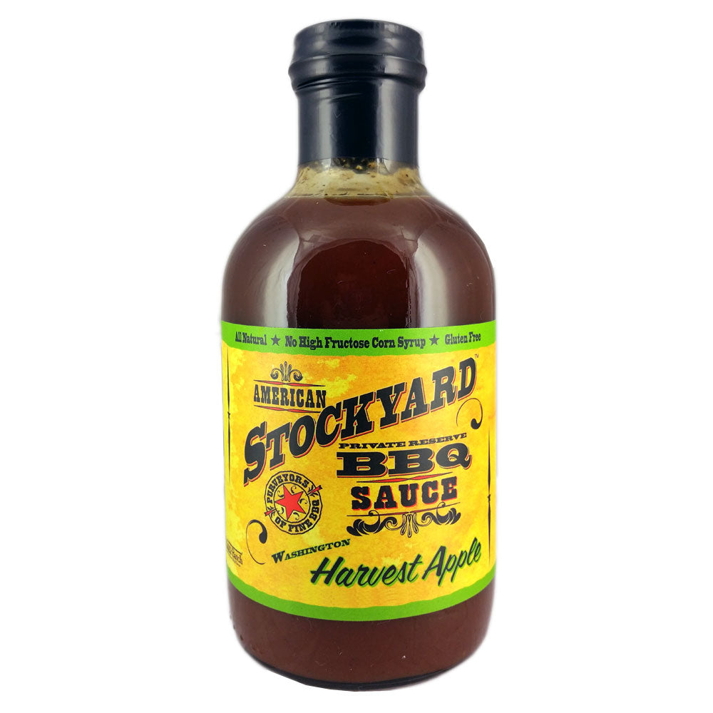 BBQ Sauce AMERICAN STOCKYARD Washington Harvest Apple 530ml