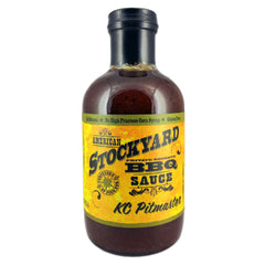BBQ Sauce AMERICAN STOCKYARD Kansas City Pitmaster 530ml