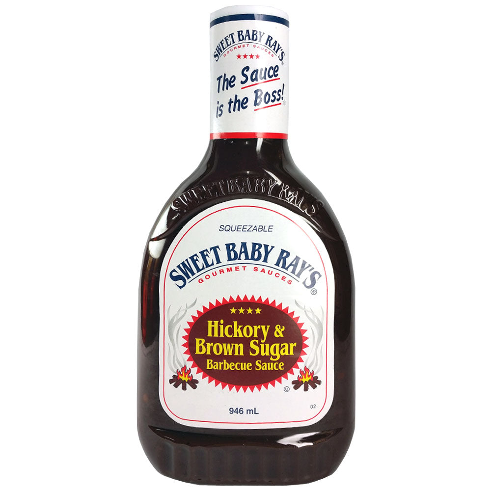 BBQ Sauce SWEET BABY RAY'S Hickory Brown Sugar 946ml