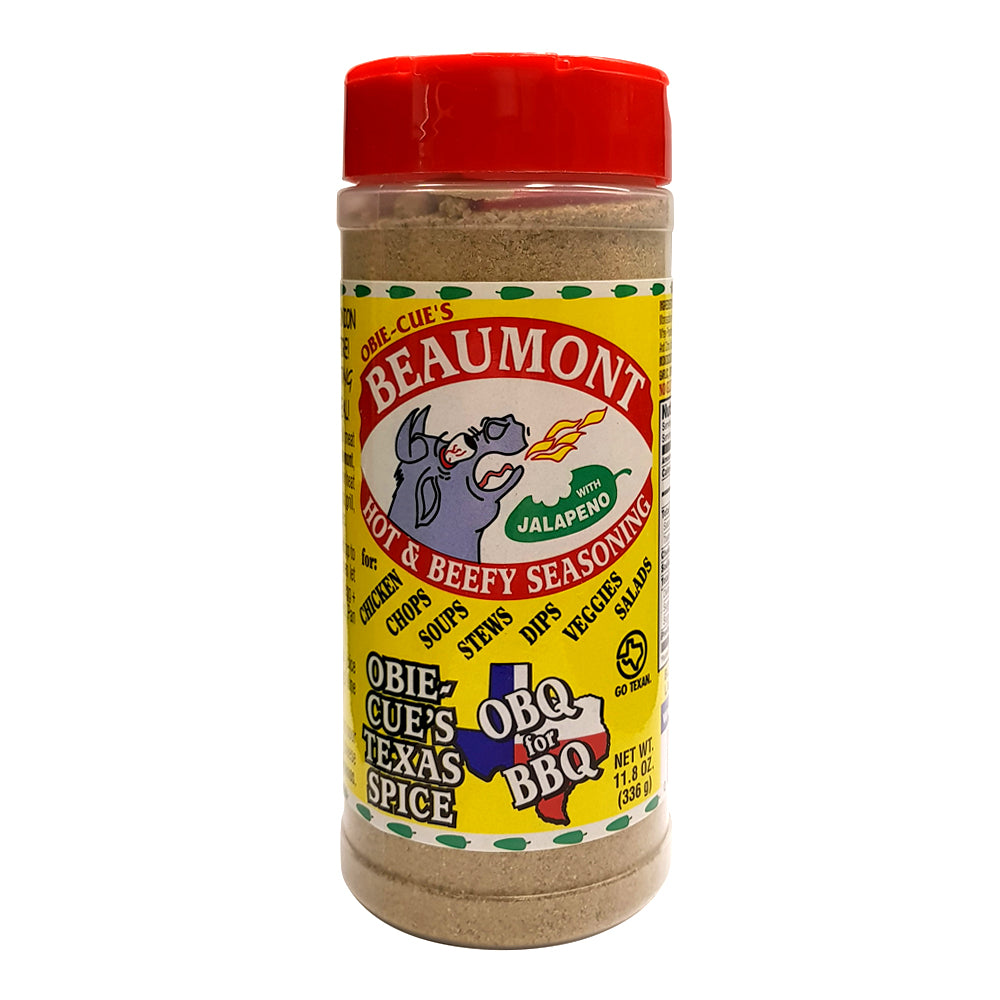 BBQ Seasoning OBIE-CUE'S Beaumont Hot and Beefy - American BBQ Australia