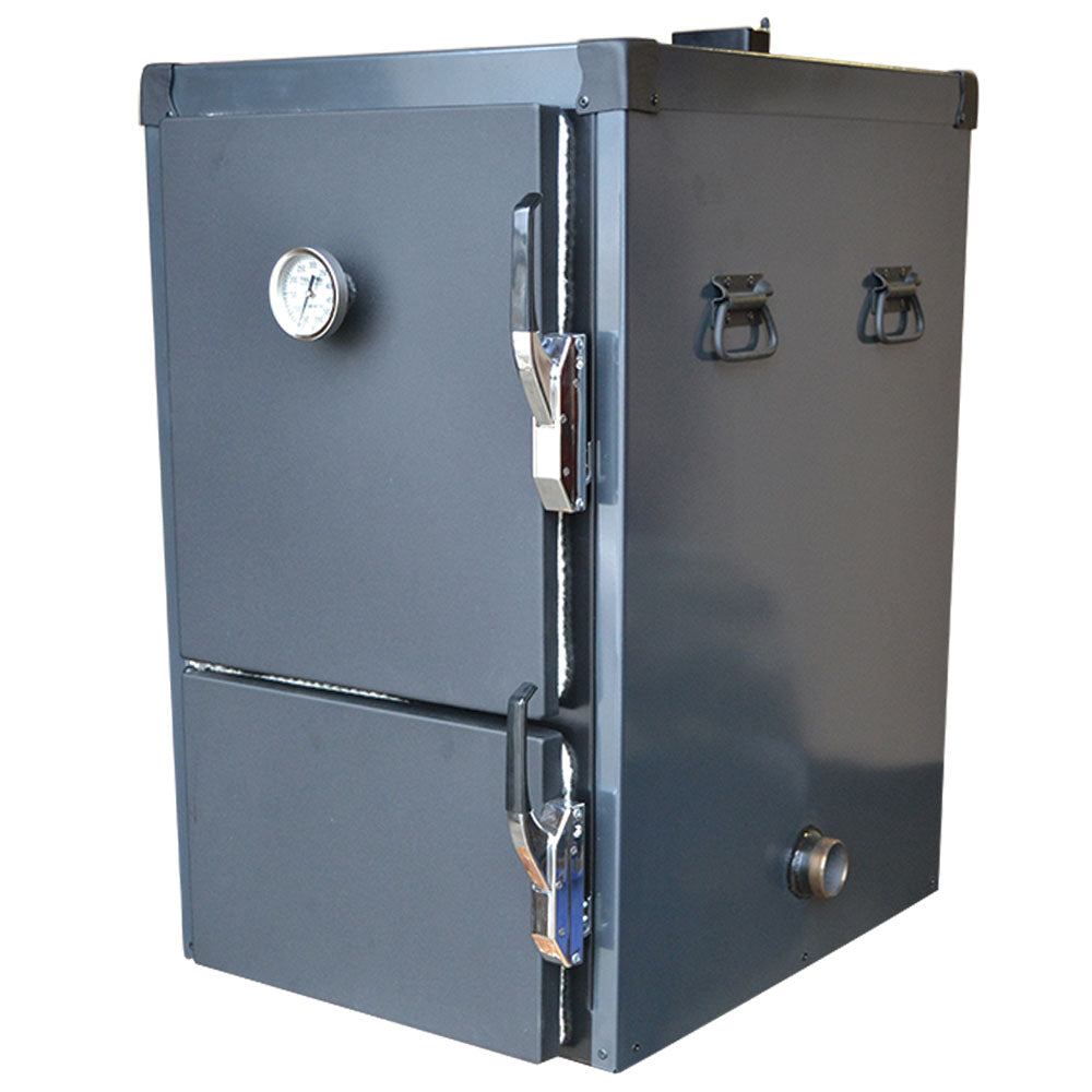 BBQ Smoker HUMPHREYS Reverse Flow Cabinet Smoker Battle Box 110 Litres