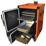 BBQ Smoker HUMPHREYS Reverse Flow Cabinet Smoker Battle Box 110 Litres - American BBQ Australia